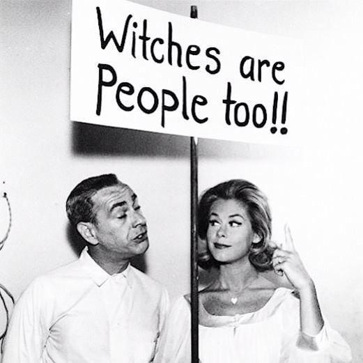 """Bewitched / Vita da Strega (1964-1972) """"Anche le streghe sono persone!!"""""""
