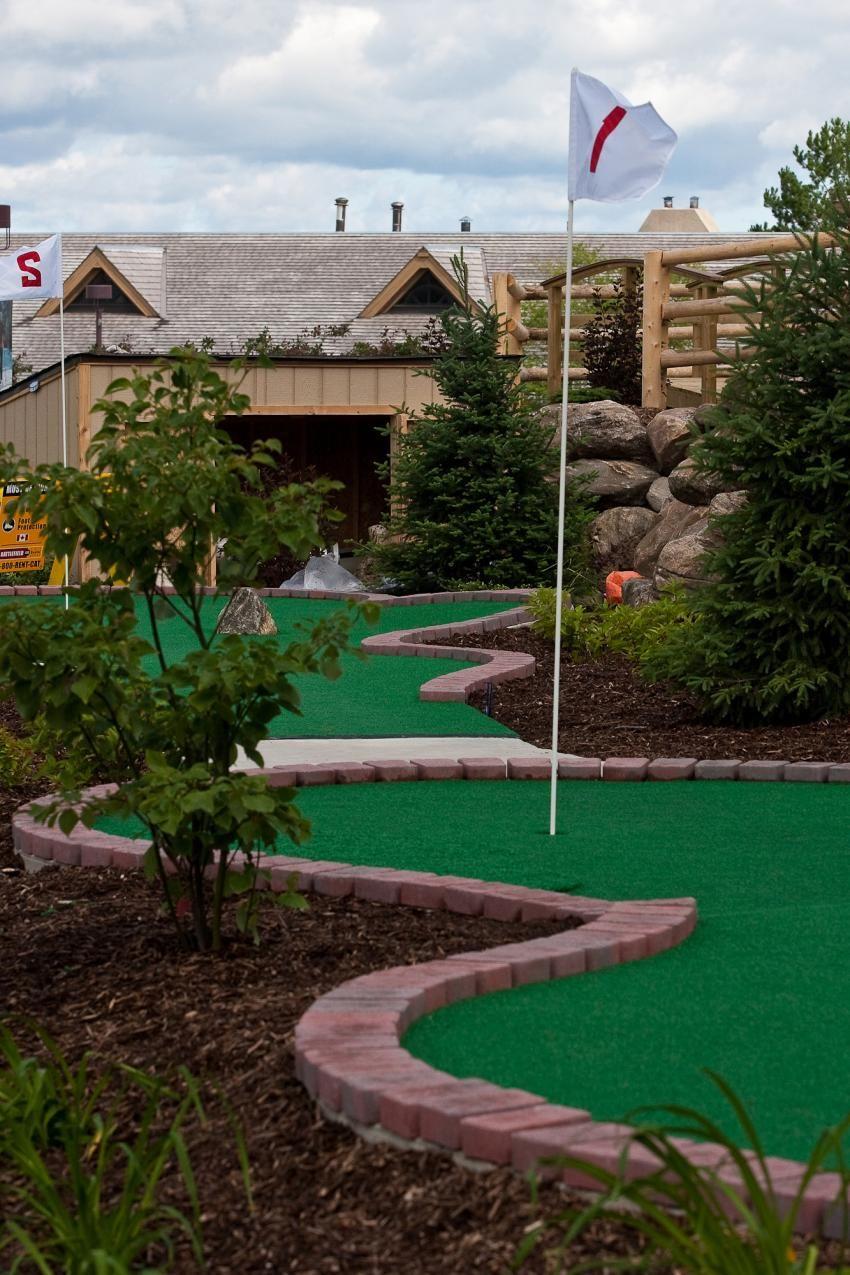 Mini Golf Pool Mini Golf Backyard Games Golf