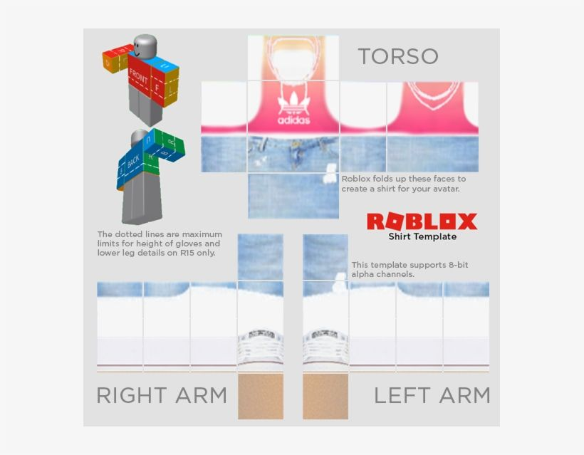 Download Roblox Templates Roblox Template Twitter Roblox Shirt