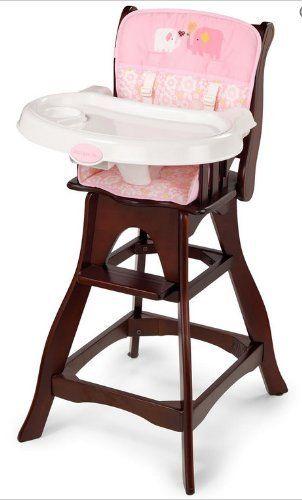 Summer Infant Carter S Joy Wood High Chair Pink Joy Amazon Baby