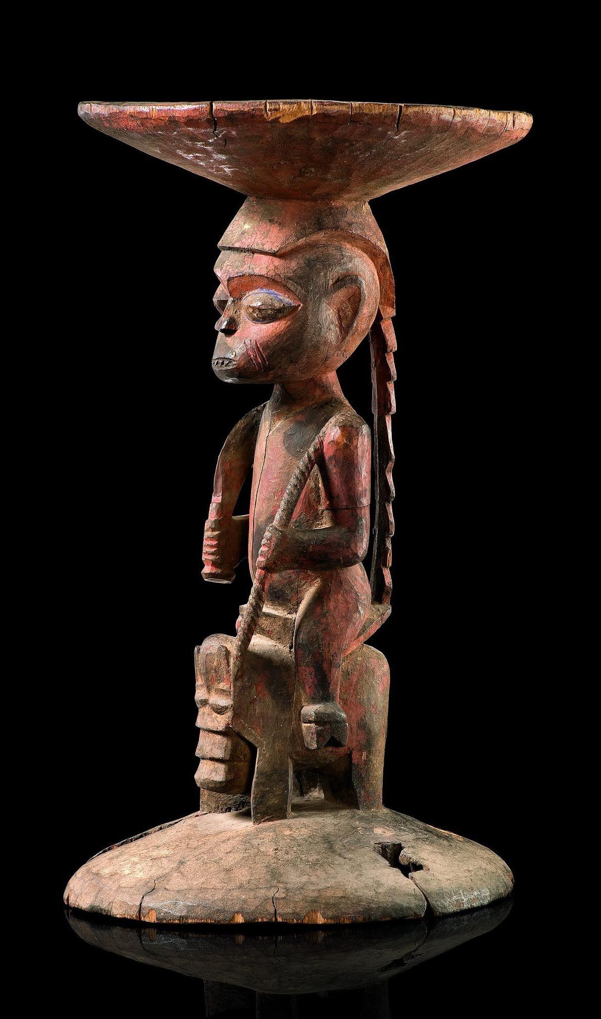 Africa Stool from the Yoruba people of the Ijebu region of Nigeria