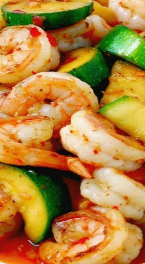 Sweet and Spicy Shrimp and Zucchini Stir-Fry - Manila Spoon