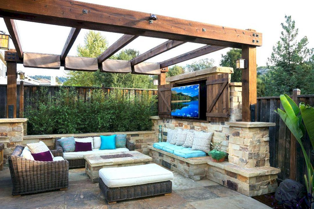 35 Marvelous Small Outdoor Patio Ideas On a Budget | Small ... on Outdoor Living Ideas On A Budget id=66462
