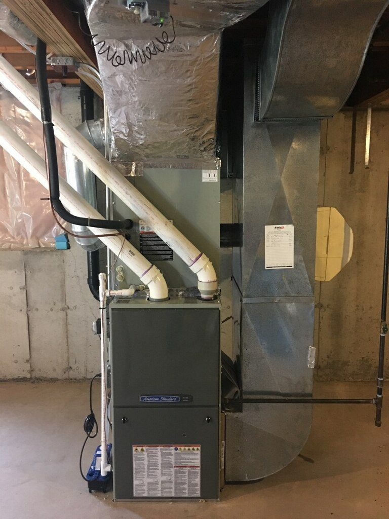 American Standard A/C and Furnace Heating and plumbing