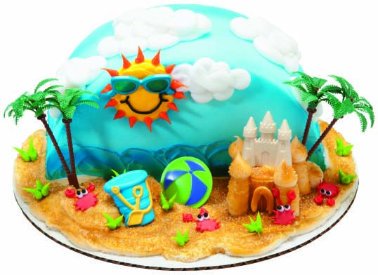 404 With Images Beach Themed Cakes Beach Birthday Cake