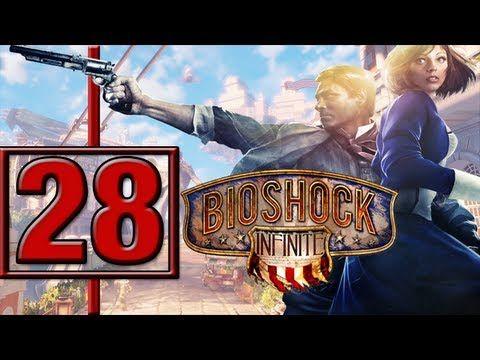 Bioshock Infinite PC detonado Va a casa de Cumstock Enfrentando o Handyman - 28 Vamos jogar gameplay