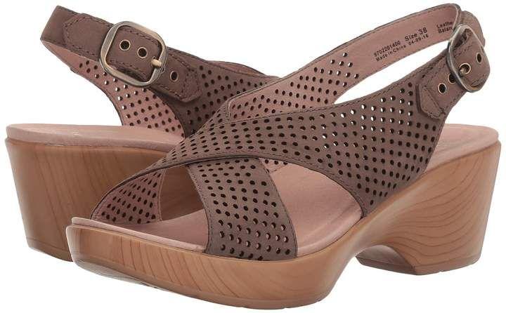 16a23b27f7f Dansko Jacinda Women s Sling Back Shoes