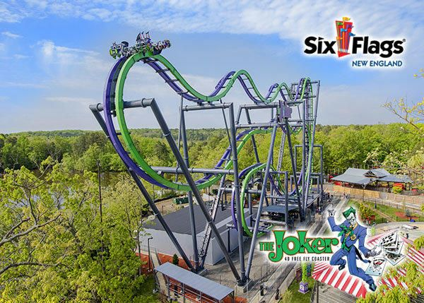Win A Pair Of Tickets To Six Flags New England On New England Six Flags England