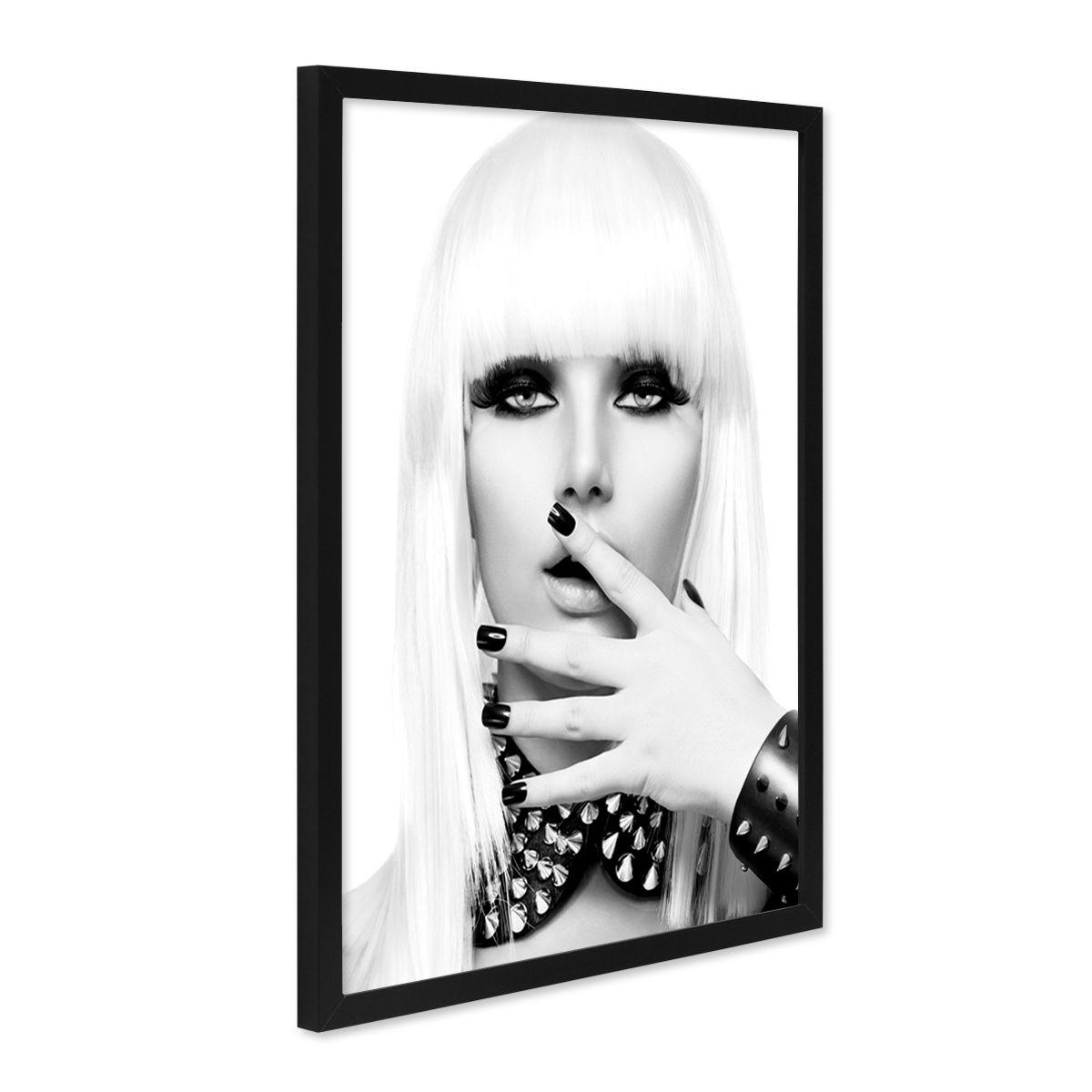 Schwarz Weiß Porträt