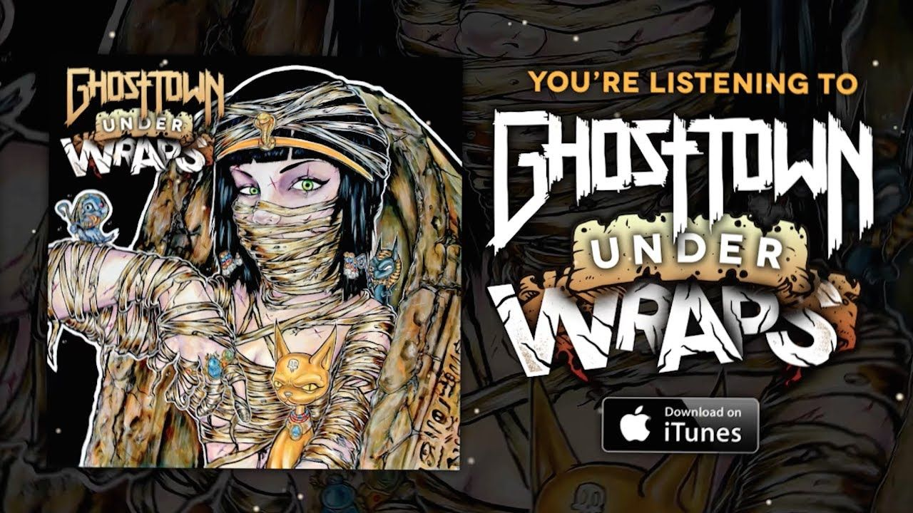 Ghost Town Under Wraps (LYRIC VIDEO) Ghost towns, Ghost