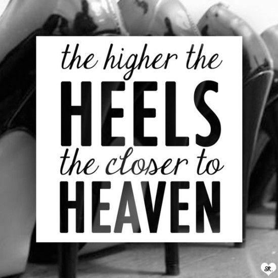 Essential Shoes For Women: 8 Types You Should Own. Heels QuotesHigh ... - Essential Shoes For Women: 8 Types You Should Own High Heel