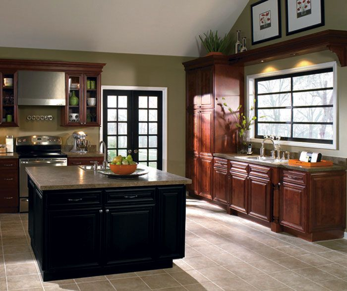 Homecrest_Cabinets_Casual_Design_Style | Kitchen cabinet ...