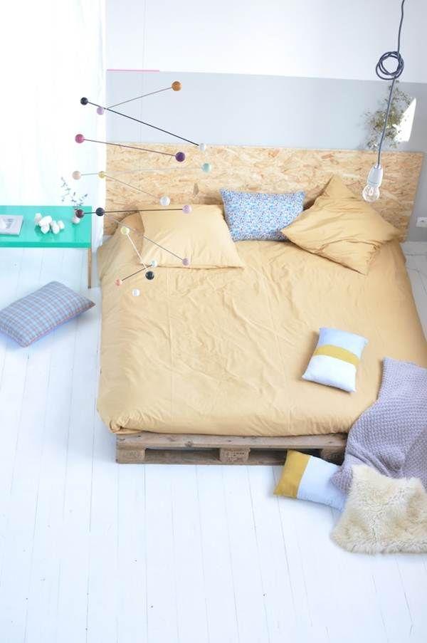 Alternativas para cabeceros de cama | Pinterest | Cabecero, Camas y ...