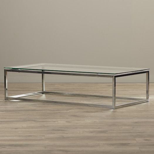 Wade Logan Bellewood Coffee Table Coffee Table Sleek Coffee Table Contemporary Coffee Table