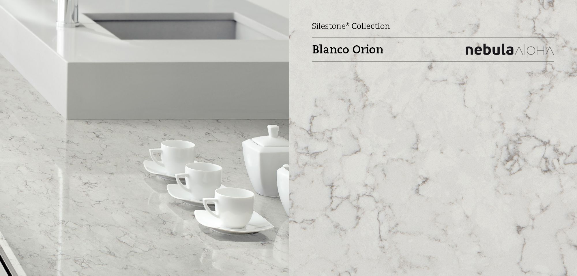 Silestone Blanco Orion Silestone Nebula Alpha Pinterest Kitchens Countertops And Countertop