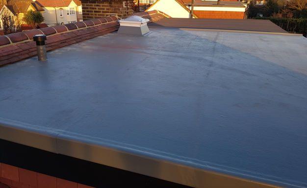 Best Fibreglass Grp Flat Roof On A Loft Conversion Dormer In 400 x 300