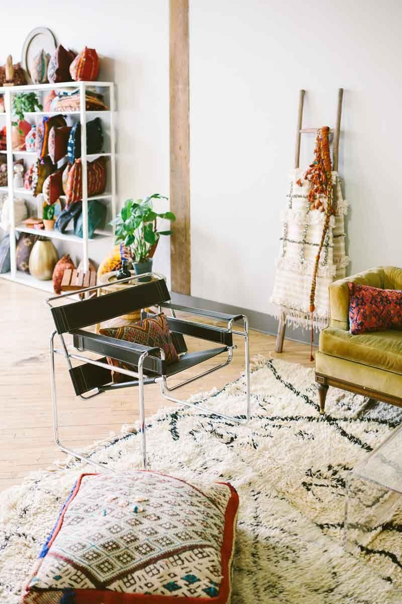 Studio Tour Semikah Textiles In 2018 Boho Eclectic Global