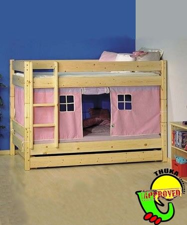 Bunkbeds With Bottom Bunk Tent Bunk Beds Bunk Beds Thuka Kids Beds
