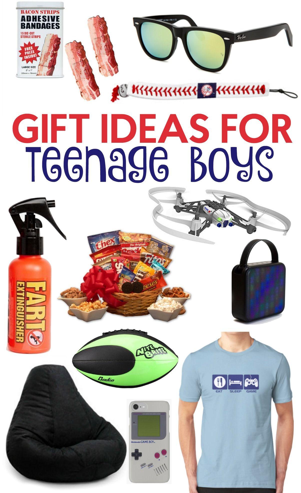 gift ideas for teen boys 2016