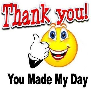 Thank you, you made my day Smiley - https://www.facebook.com/pages ...