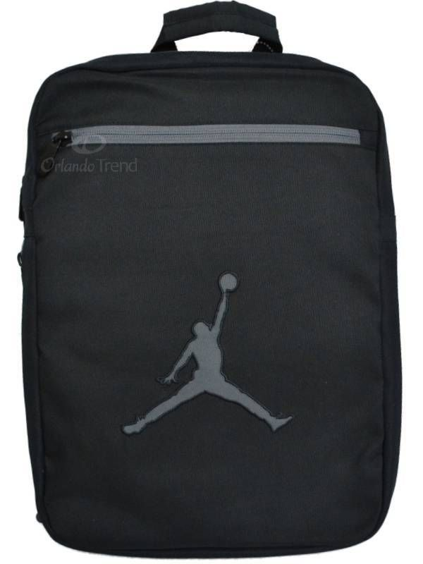 Nike Air Jordan Backpack Bag Laptop Tablet Black Gray Convertible Messenger  Bag  Nike  Backpack  OrlandoTrend  Jordan  Messenger b42b5ecb4fa60