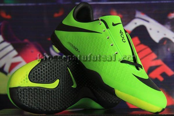 Sepatu Futsal Nike Hypervenom Hijau Kw Super Sol Ori Harga