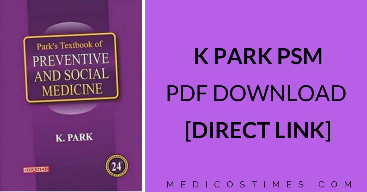 K Park Psm Pdf Free Download Direct Link With Images K Park