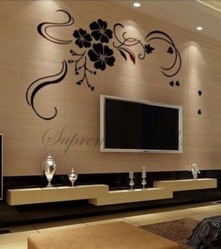 Genial Spring Festival TV Background   Home Decor Wall Art Vinyl Removable D