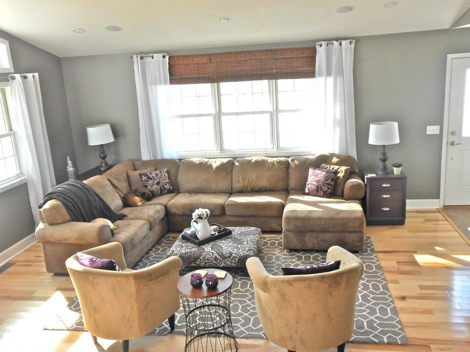 Brown Carpet With Gray Walls Google Search Grey Walls Living Room Gray Living Room Walls Brown Couch Brown Couch Living Room