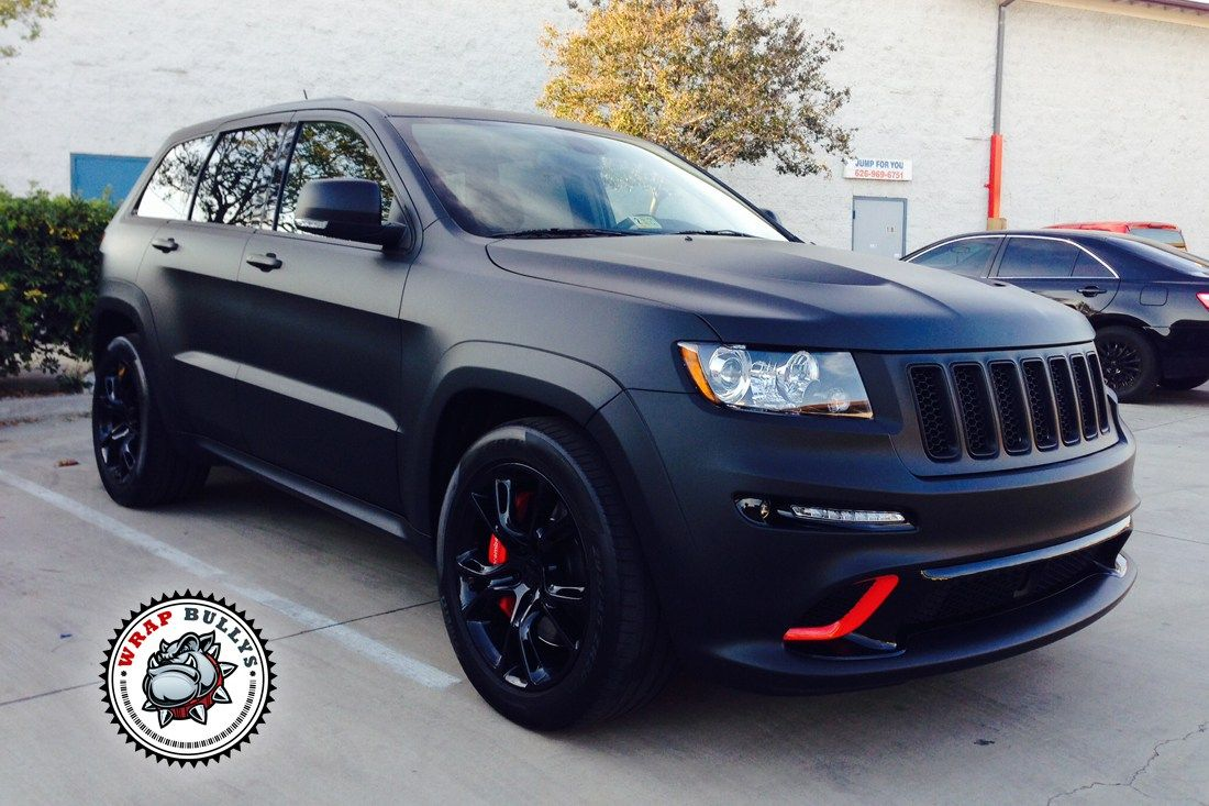 Matte Black And Blue Jeep Customization Google Search Jeep Srt8 Jeep Grand Cherokee Srt Jeep Cherokee Limited