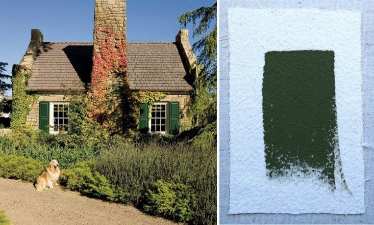 palette paints 10 paint picks for the perfect green shutters