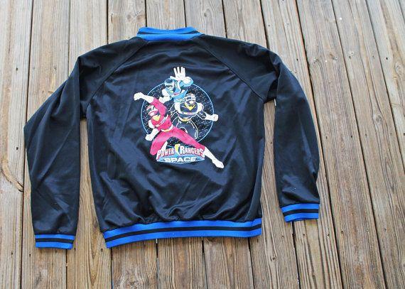 Men's sporty jacket/ Power Ranger Costume/ by URTHYCHURCHYPPL, $23.00