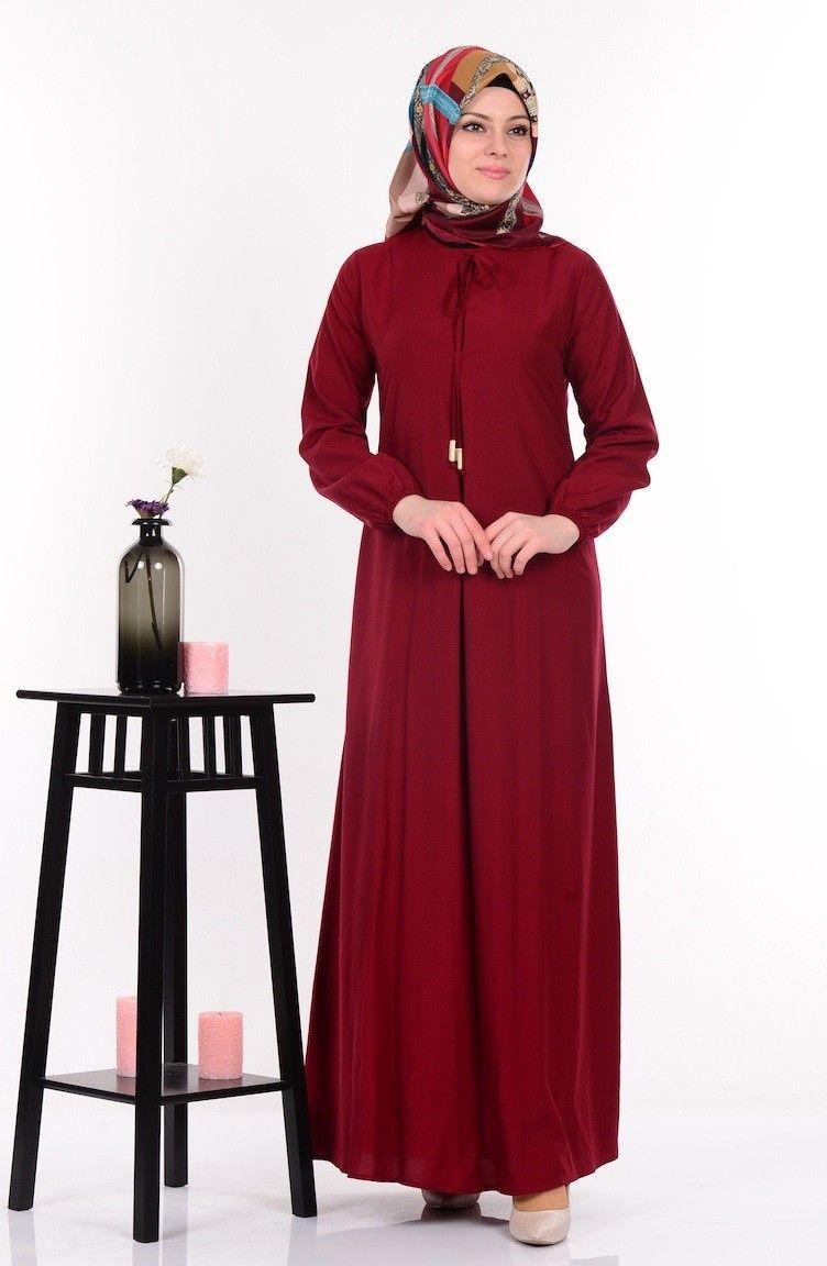 Sefamerve Sik Tesettur Salas Elbise Modelleri Elbise Modelleri Elbise The Dress