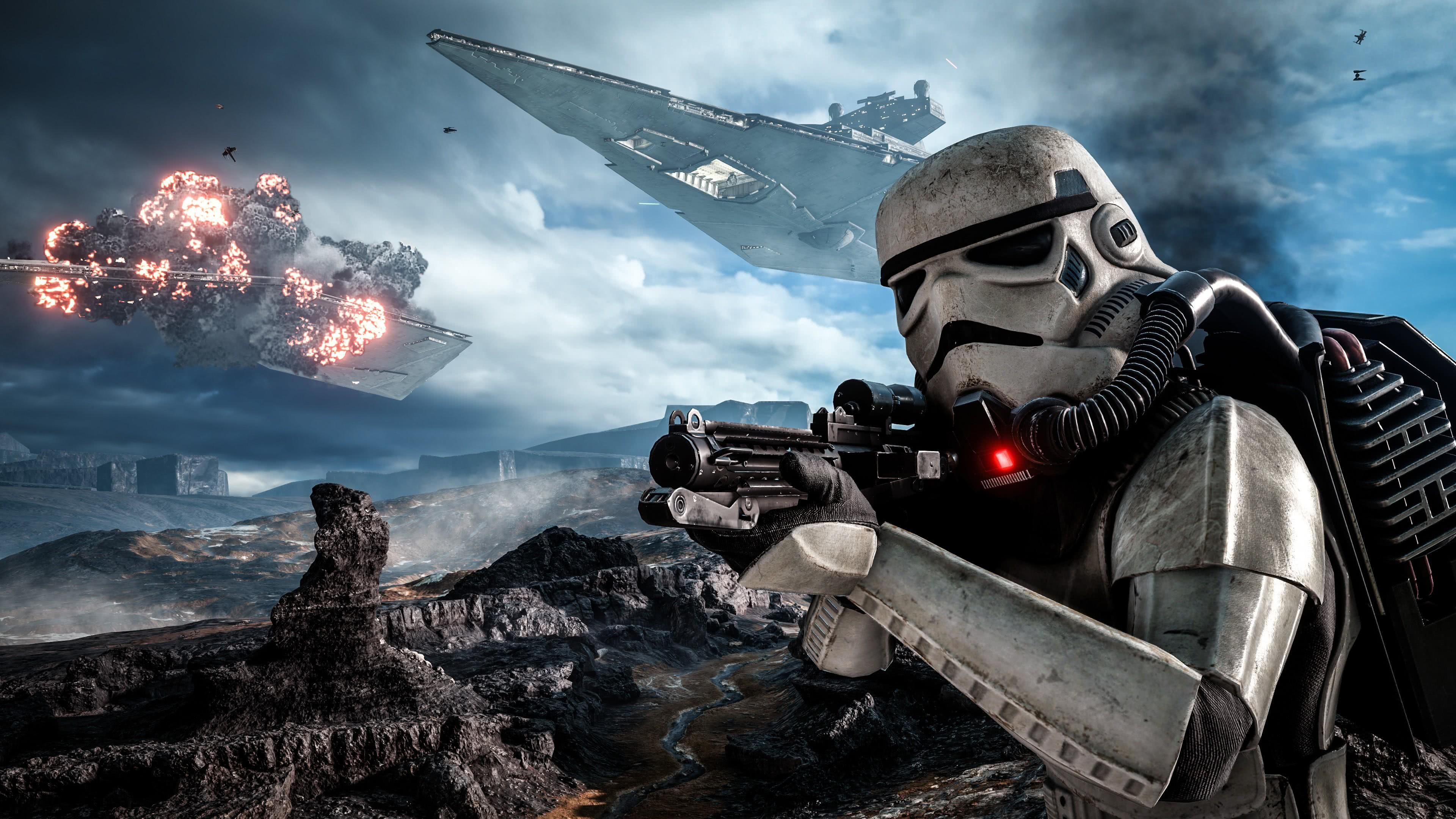 Star Wars Battlefront 2 Uhd 4k Wallpaper Http Www Wallpaperback Net Games Star Wars Battlefront 2 Uhd Star Wars Wallpaper Star Wars Rpg Star Wars Video Games