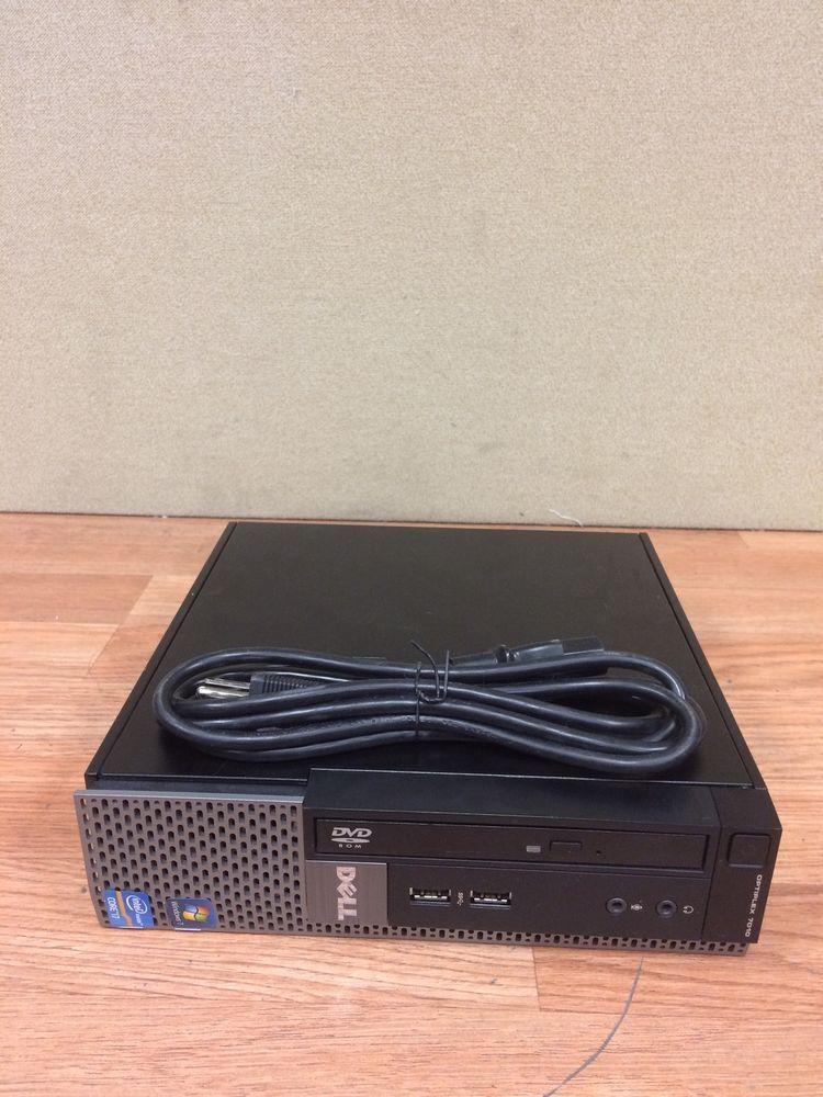 Dell Optiplex 7010 Computer D01U Intel Core I7-3770S @ 3 10 Ghz Quad