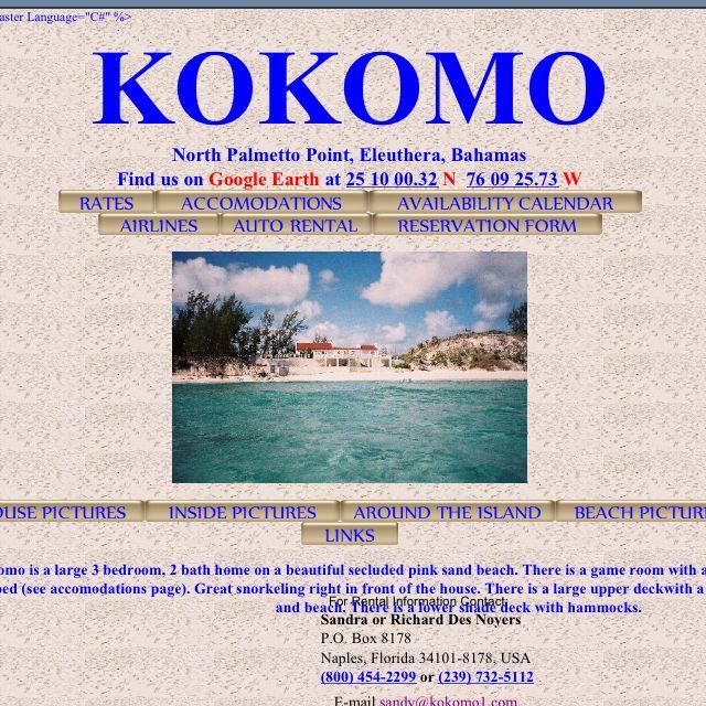Kokomo exists!!