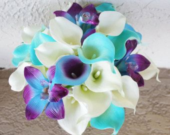 blue orchid wedding bouquet ideas - Google Search   Wedding ...