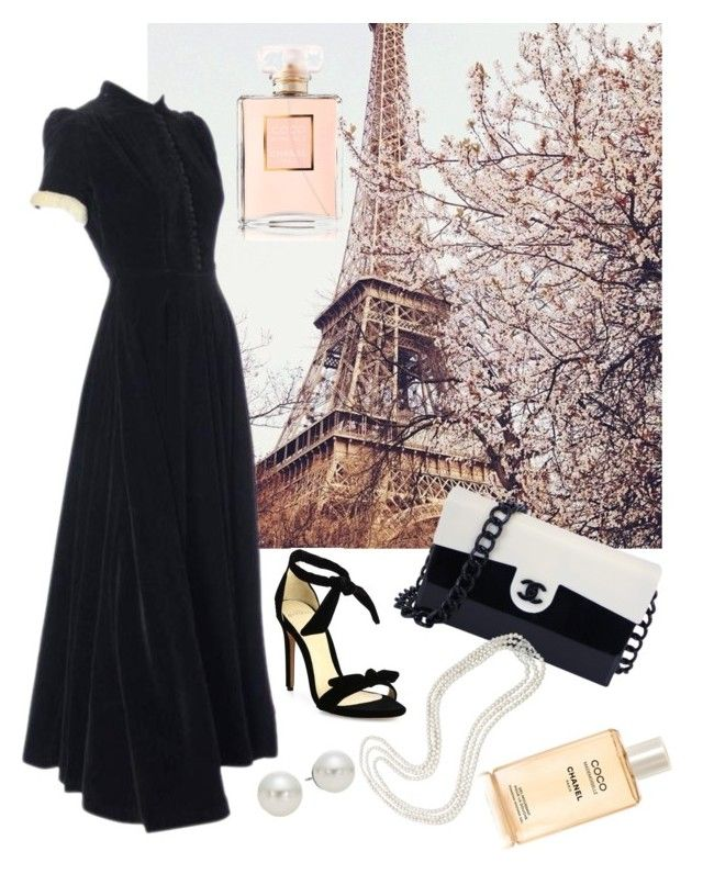 """Paris"" by shurmanira on Polyvore featuring мода, John Lewis, Alexandre Birman, Chanel и AK Anne Klein"