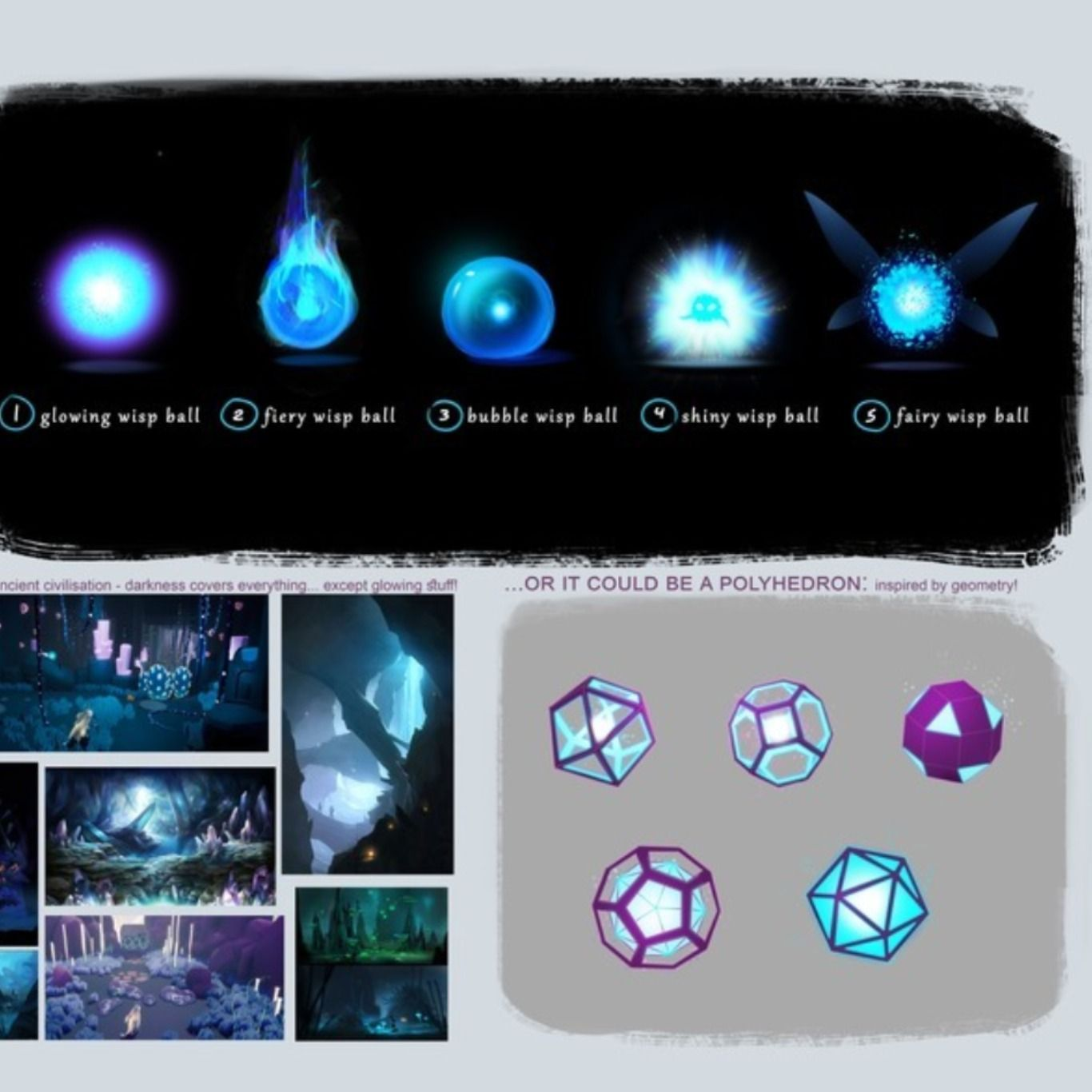 Character concept art and environment concepts for hyper