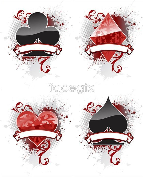 Gothic Playing Card Symbols Google Search Numerologyplaying