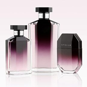 My go to perfume!  The first fragrance by Stella McCartney, inspired by the fragile beauty of a rose, is contrasted by sensuality of amber. Playing with the opposition of the masculine and the feminine as well, the bottle's lines, both precious and sharp, frame a seemingly infinite plum dégradé.