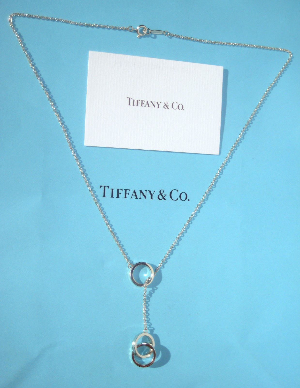 LIKE NEW!! Gorgeous Tiffany & Co. Sterling Silver 1837 Circles ...