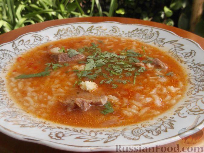 рецепт суп харчо с фото