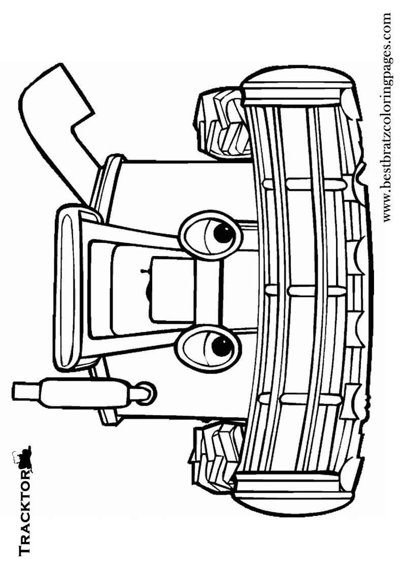 Free printable tractor coloring pages for kids john deer deco