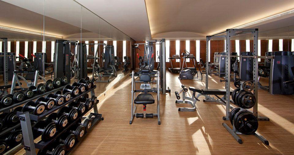 Gym at the al jasra boutique hotel souq waqif doha qatar
