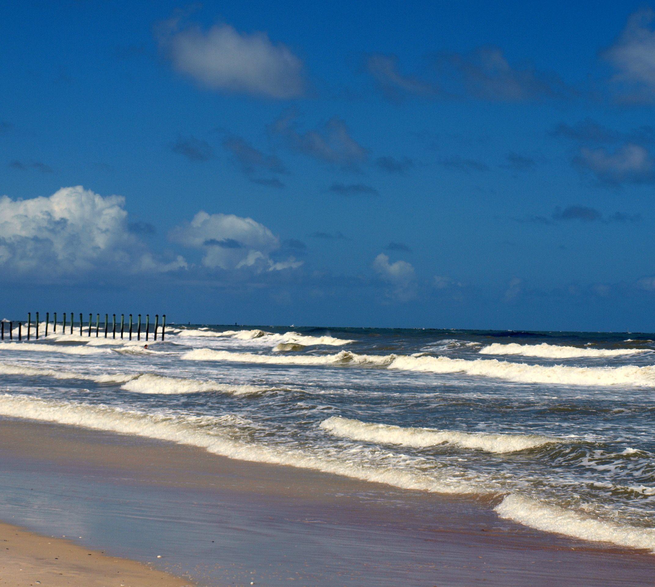 The Poles At Mayport Beach, Jacksonville, Fl.