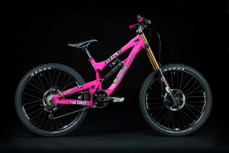 Custom Pink Intense 951 We Have A Winner Bicycle Pink Bike Bicycle Humor