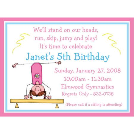 Kids Gymnastics Invitations Il Xn Invitation Templates 570x798 66 Kb Birthday