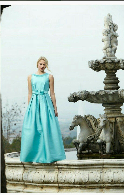 Vestido de fiesta de Juan Marcos....sensacional..!!!.....diseño ...