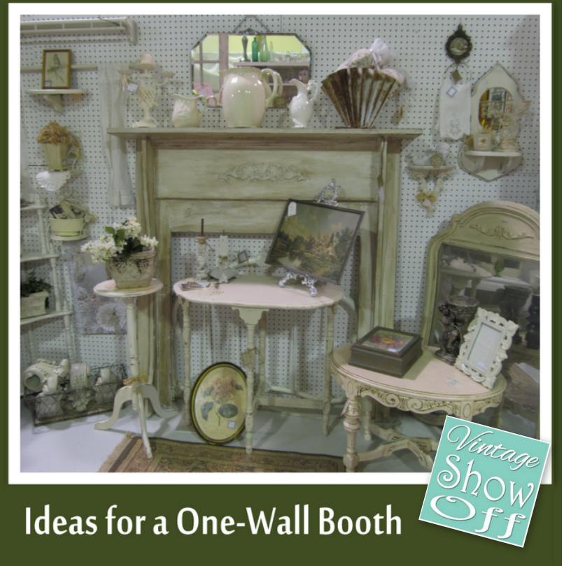 Ideas For Antique Booths With Only One Wall Vintage Show Off